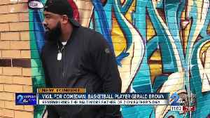 Slain father and basketball star Gerald Brown honored on Father's Day [Video]