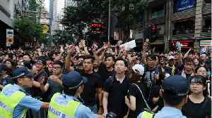 Hundreds of thousands protest in Hong Kong [Video]