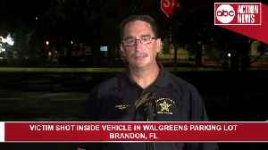 Woman found shot in car outside Brandon Walgreens | Press Conference [Video]