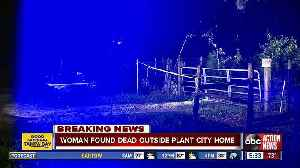Woman found dead outside Plant City mobile home [Video]