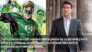 Tom Cruise Suits Up As Hal Jordan/Green Lantern In Awesome New Image [Video]