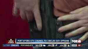 Fort Myers council to discuss gun options [Video]