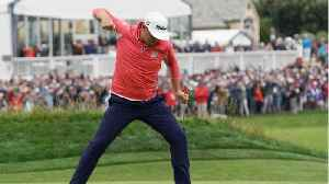 Gary Woodland wins U.S. open [Video]