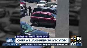 Phoenix police chief responds to controversial arrest video [Video]