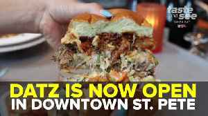 Datz opens second location in downtown St. Petersburg | Taste and See Tampa Bay [Video]