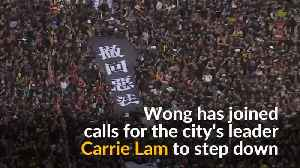 Freed Hong Kong activist joins calls for leader to quit [Video]