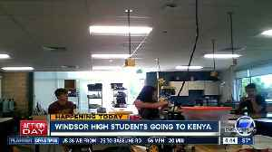 Windsor High School students going to Kenya [Video]