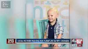 Tampa Bay area mother pushing for furniture safety changes following death of son [Video]