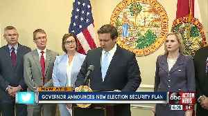 DeSantis announces millions to boost cybersecurity ahead of 2020 election [Video]
