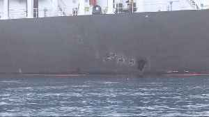 Central Command Releases 11 New Images Of Oil Tanker Bombings [Video]