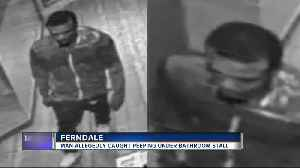 News video: Man allegedly caught peeping under women's bathroom stalls at Ferndale restaurant