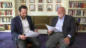Nelson DeMille and his coauthor son Alex celebrate Father's Day with Dad Jokes [Video]