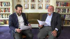 Nelson DeMille and his coauthor son Alex celebrate Father's Day [Video]