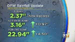 Sunday Saw Record Rainfall As Severe Weather Moved Through [Video]