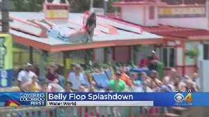 Families Treated To Big Splashes During Annual Belly Flop Contest [Video]
