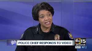 News video: Phoenix police chief responds to controversial shoplifting video