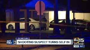 Shooting suspect turns self in [Video]