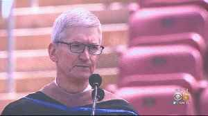 Apple CEO Tim Cook Cautions Tech World In Stanford Grad Speech [Video]