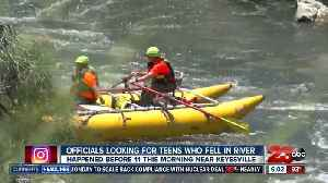 Officials looking for teens who went missing into the Kern River [Video]