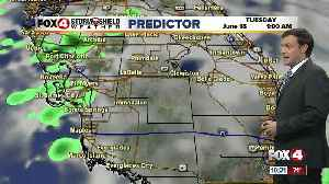 Forecast: Rain in the forecast again both Monday morning and afternoon [Video]