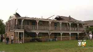 14 Families Displaced After Tornado-Warned Storm Damages Farmers Branch Apartment [Video]