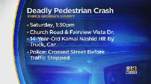 14-Year-Old Killed After Being Hit By Car In Bowie [Video]