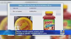 Some Ragú Pasta Sauces Recalled Over Concerns About Plastic Bits [Video]