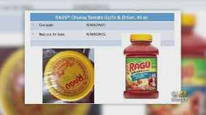 News video: Some Ragu Pasta Sauces Being Recalled Due To Possibility Of Plastic Inside Jars