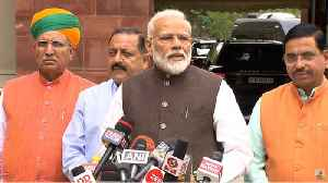 News video: 'Vigilant opposition crucial,' PM Modi ahead of Parliament inaugural session