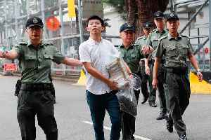 Hong Kong pro-democracy activist Joshua Wong released from jail