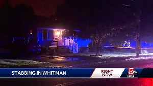 Whitman stabbing under investigation [Video]