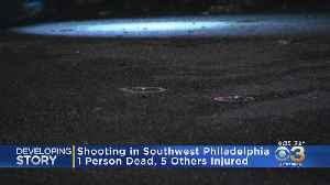 Shooting At Graduation Party Leaves 1 Dead, 5 Injured In Southwest Philadelphia [Video]