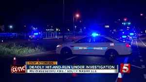 Police search for driver in deadly hit-and-run in Nashville [Video]
