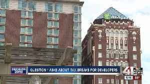 KCMO voters to tackle tax incentives in Question 1 on Tuesday's ballot [Video]