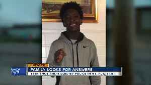 Community seeks answers in Mt. Pleasant officer-involved shooting death of young man [Video]
