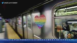 MTA Gets In On Pride Month [Video]