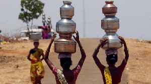 India drought: Maharashtra farmers displaced