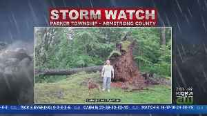 Severe Weather Leaves Behind Damage Across Area [Video]