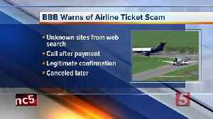 Scammers are targeting travelers looking for cheap airline tickets; Here's what you need to know [Video]