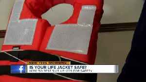 This is the type of life jacket you should buy your kid [Video]