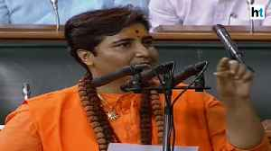 Uproar in Lok Sabha over Pragya Thakur's oath taking ceremony [Video]