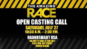 Promo: Open Casting Call For The Amazing Race [Video]