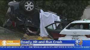 Driver At Large After Deadly Hit-And-Run In North Hills [Video]