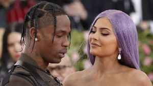 News video: Kylie Jenner And Travis Scott Share Pictures Of Stormi