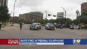 Suspect In Custody After Shooting At Dallas Federal Building [Video]
