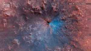 NASA Spacecraft Captures Brand New Crater on Mars [Video]