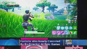Fortnite Was Nearly Canceled By Ex-Director At Epic [Video]