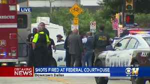 UPDATE: Shooter In Custody After Shots Fired At Federal Building In Dallas [Video]