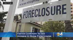 Florida Bucks Trend, Sees Increases In Foreclosures [Video]
