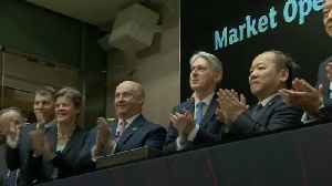 Philip Hammond helps launch UK-China stock market link